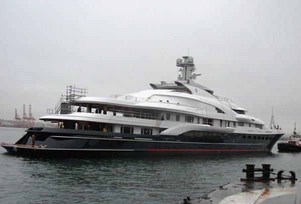 Motor Yacht Attessa Iv Evergreen Shipyard Yacht Harbour