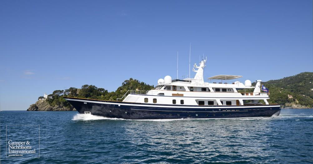 yacht Atlantic Goose