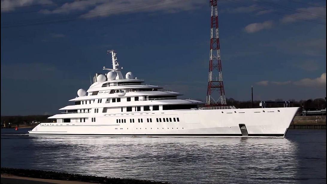 motor yacht azzam - lurssen