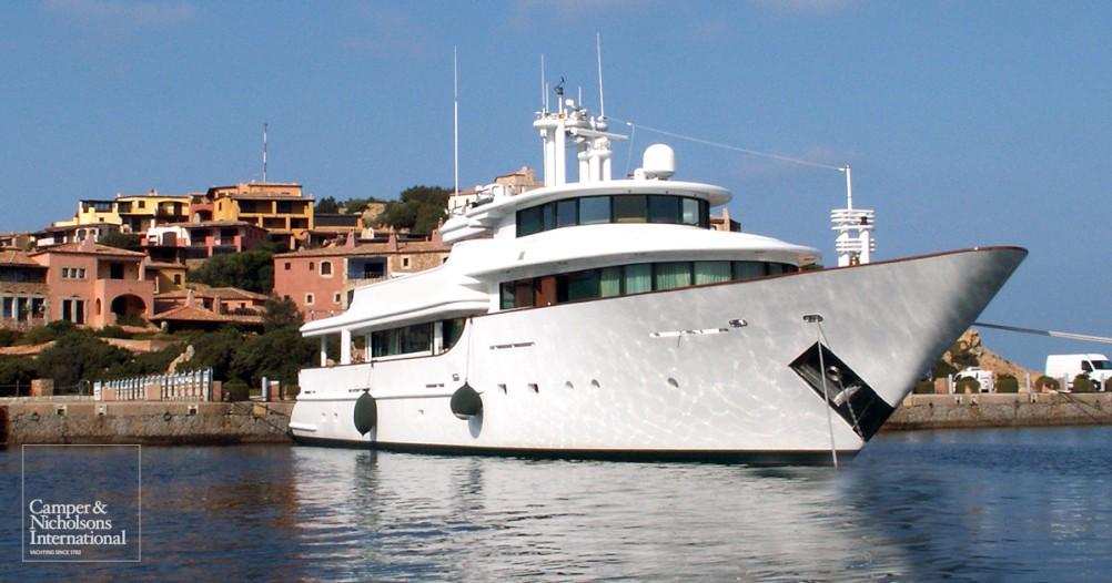 Motor yacht Aquarius - CBI Navi - Yacht Harbour