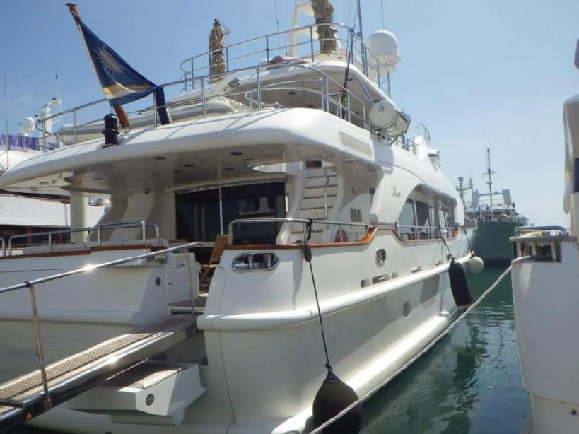 yacht Benetti Tradition 100