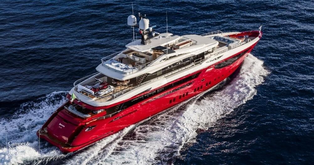 Motor yacht ipanema mondomarine yacht harbour for Luxury motor yachts for sale