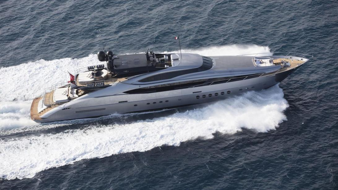 yacht Silver Wave