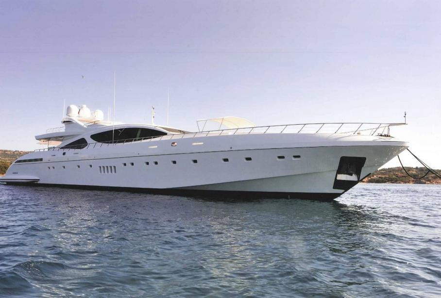 49 9m Overmarine Mangusta 165 Asking 13 950 000