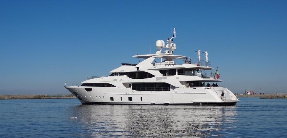 Motor Yacht Luna Benetti Yacht Harbour