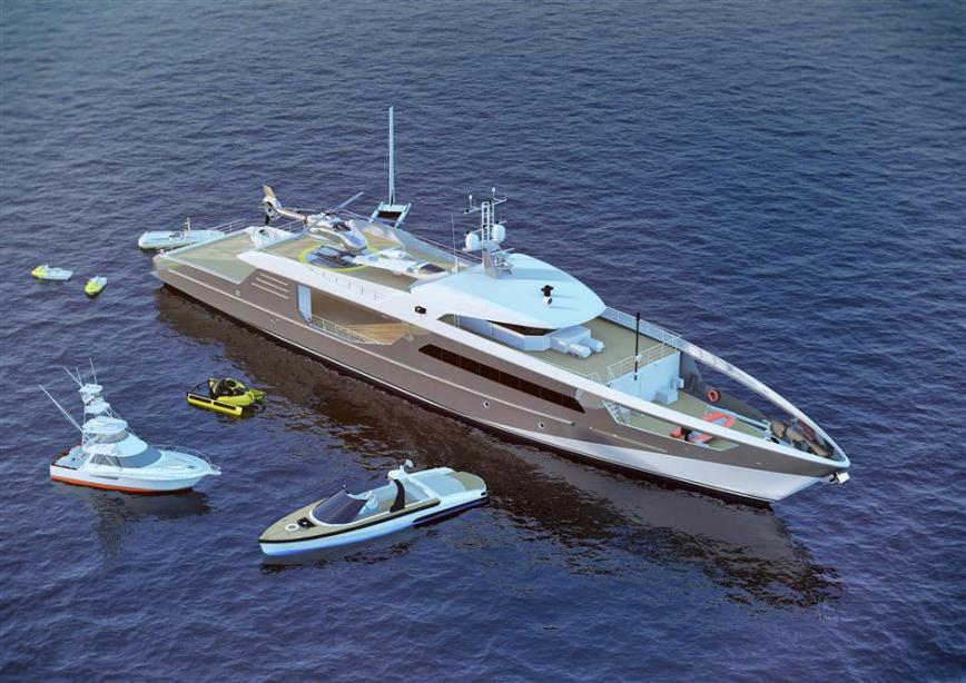 yacht Ultimate Shadow Vessel