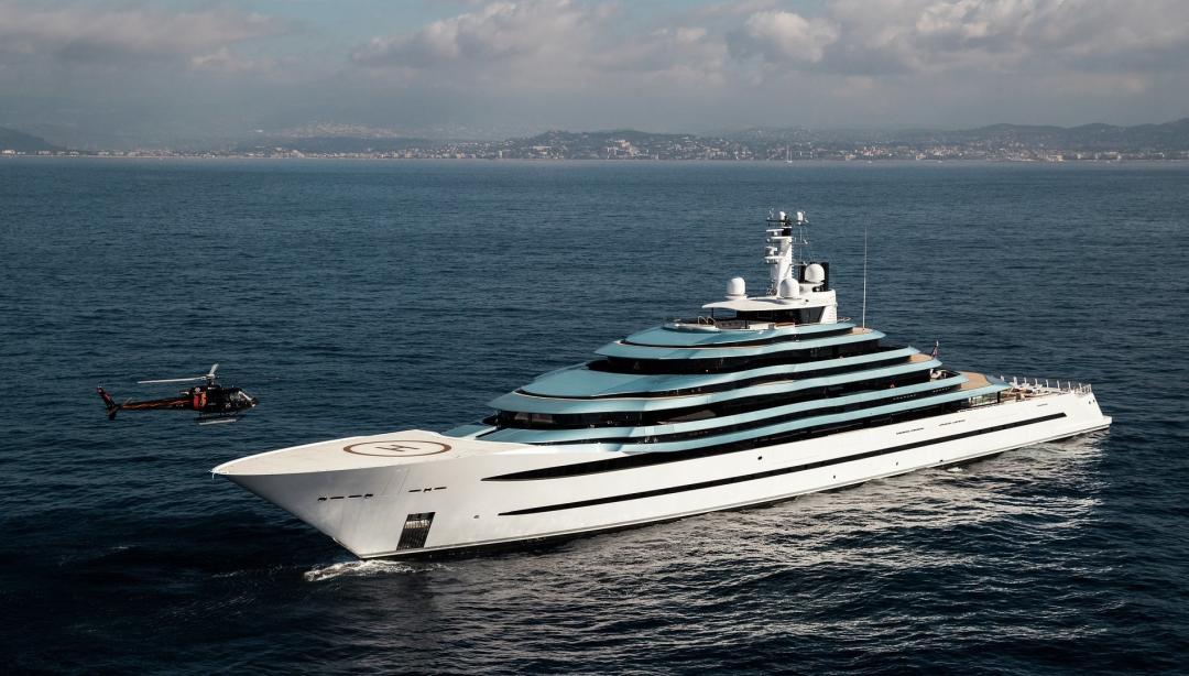 Motor Yacht Jubilee Oceanco Yacht Harbour