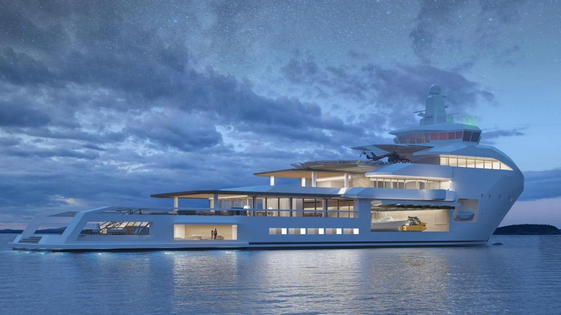 yacht Project Brage