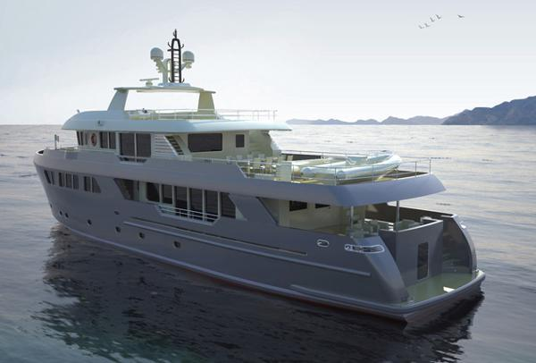 Motor yacht Darwin 115 - Cantiere delle Marche - Yacht Harbour