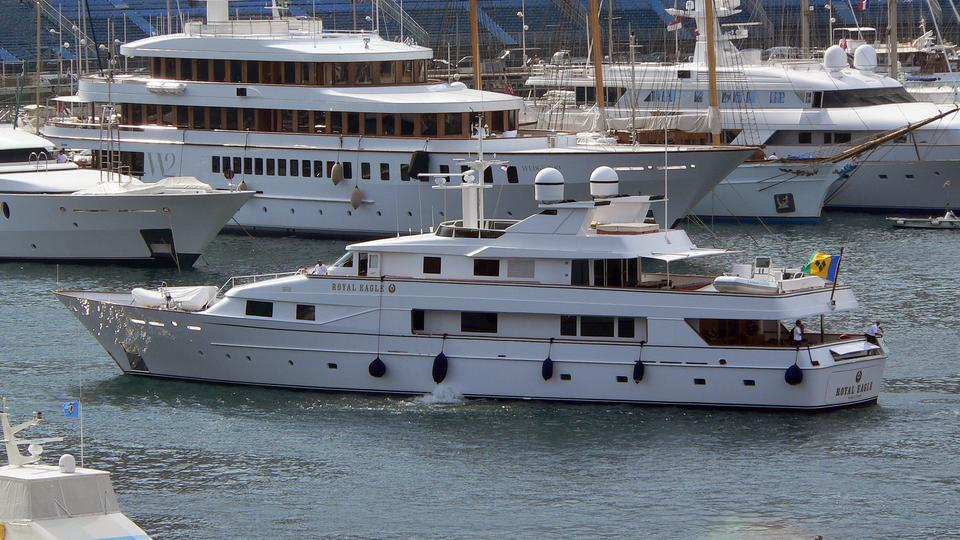 yacht Golden Eagle