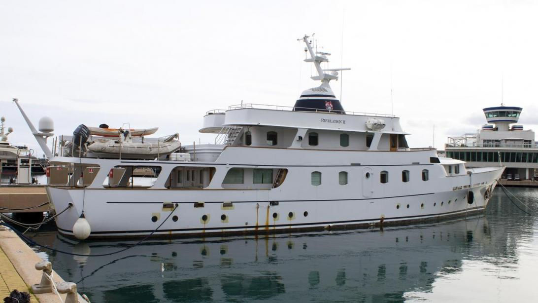 Motor yacht Revelation II - Globe - Yacht Harbour