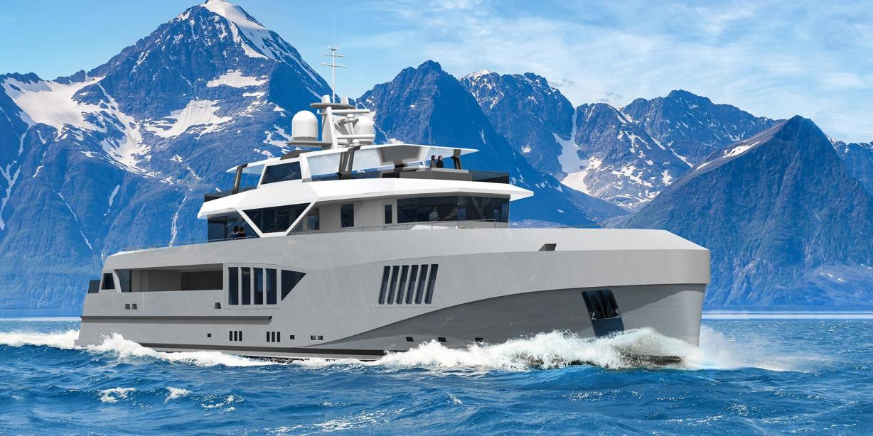 yacht Cape Hawk 690