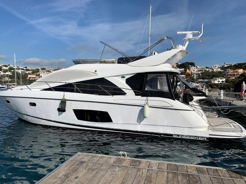 yacht sunseeker manhattan 53