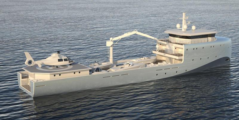 yacht RMK Yacht Support Vessel 62