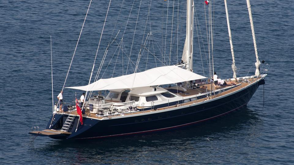 yacht Blue Papillon