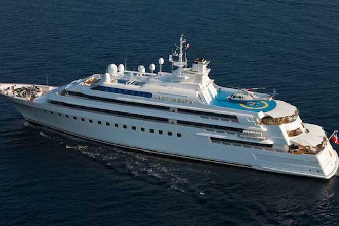 Motor Yacht Lady Moura Blohm Voss Yacht Harbour