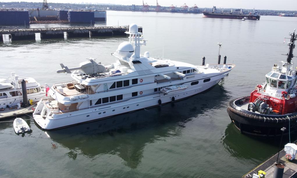 Paul Allen Sells M Y Meduse Yacht Harbour