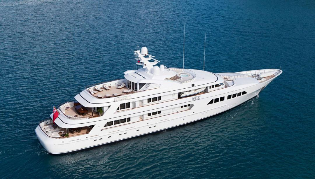 Motor Yacht Majestic Feadship Yacht Harbour
